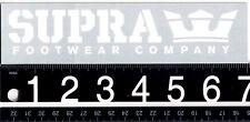 SUPRA FOOTWEAR STICKER Supra Footwear Skateboard Sticker Longboard Decal