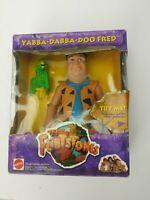 "1993 MATTEL--THE FLINTSTONES--8"" YABBA DABBA DOO FRED FIGURE in Box (LOOK)"