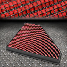 FOR 13-19 CADILLAC ATS/CTS /16+ CAMARO 2.0/2.5/3.6 DROP-IN PANEL AIR FILTER RED