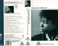 JOAN ARMATRADING -The Very Best Of -VHS-PAL-N&S-Never played-Original Oz release