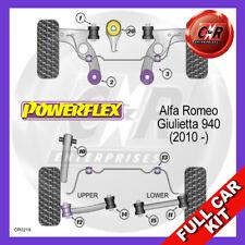 Alfa Romeo Giulietta 10on Fr Arm Rr Caster, Fr Arm Fr Camber Powerflex Full Kit