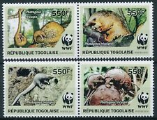 [196] Togo 2010 Fauna WWF good Set very fine MNH Stamps