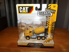"CAT METAL MACHINES, DIE CAST CT660 CEMENT MIXER, 1:92 SCALE, 3.5"" LONG, NIP 2016"