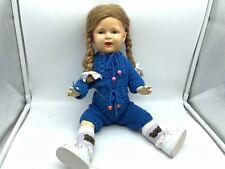 Alte Puppe 46 cm. ⭐️⭐️  Sehr Alt. Zustand ( Siehe Fotos ) ⭐️⭐️