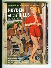 HOYDEN OF THE HILLS, US Uni Book #36 rural sleaze gga digest pulp vintage pb