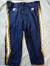 1995 Authentic NFL STARTER San Diego Chargers Game Used Football Pants Size 42 L