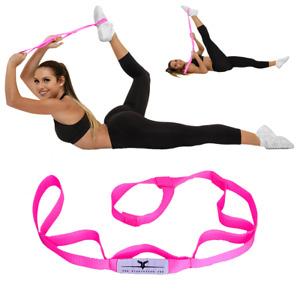 Cheerleading Stunt Stand(R) Balance & Flexibility Stretching Strap - PINK