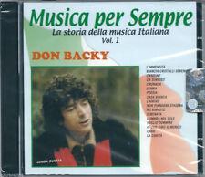 Don Backy. I Successi (2000) CD NUOVO SIGILLATO L'Immensità. Casa Bianca. Poesia