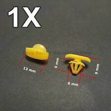 1X Weatherstrip Seal Clip, Rubber Door Seal Clip for VW, Skoda