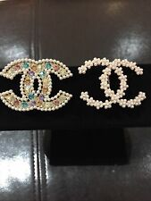 New listing Chanel Vip Brooch Lot Of 2