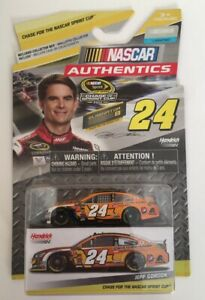 JEFF GORDON DRIVE TO END HUNGER PLAYOFF CUP 2015 NASCAR AUTHENTICS DIECAST 1:64