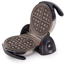 Presto 03510 FlipSide Belgian Waffle Maker with Ceramic Nonstick Finish, Black
