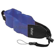 Blue Floating Foam Camera Strap for Nikon Coolpix AW100