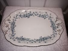 "Henry Alcock & Co Semi-Porcelain  Dish - Made in England - 14"" Length"