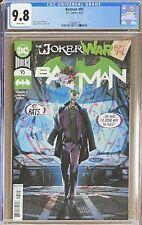 Batman #95 CGC 9.8 Jorge Jimenez Cover A 💥 Joker War Part 1 💥 L@@K!