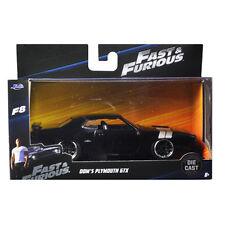Jada Fast & Furious 8 Dom's Plymouth GTX 1:32 98300 Black