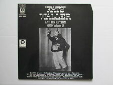 "Fats Waller And His Rhythm 12"" Vinyl Volume 16 (1939) 1976 Made In France"