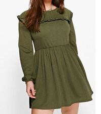 Boohoo Dresses for Women with Ruffle