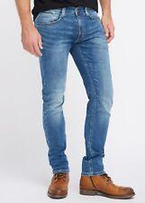 Mustang Oregon Tapered K Herren Slim Fit Sweat Jeans / Used-Finish