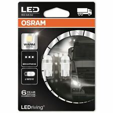 OSRAM W5W 24V 2824WW-02B LED Bianco Caldo Retrofit LUCI INTERNE 4000K NUOVO TWIN
