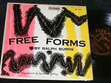 Bebop 10 inch LP CLEF Free Forms RALPH BURNS Lee Konitz NORMAN GRANZ Chamber Jaz