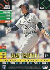 1995 Donruss Top Of The Order Alan Trammell Tigers