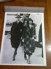 RARE ROYAL PRESS PHOTO KING GEORGE & QUEEN elizabeth ON SHIP LONDON B&W 8 BY 10