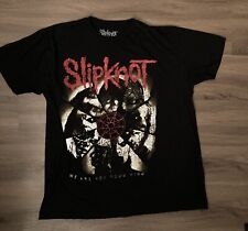 Slipknot We Are Not Your Kind Heavy Metal Band Black T-Shirt Size XXL 2X