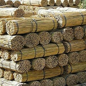 2FT- 3FT- 4FT -5FT- 6FT Bamboo Garden Canes,Stakes Strong Quality Plant Support