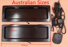 Australia stealth car number device license plate roller hide cover shutter