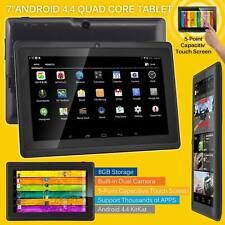 7″ Kids Android Tablet Wifi Dual Camera 8GB A33 Quad Core 4.4 HD Touchscreen UK