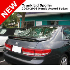 Honda Accord 4D 03-05 ABS Trunk Rear Wing Spoiler Unpainted GRAY ABS