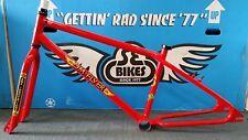 "2018 SE Racing OM Flyer 26"" BMX Bike Frame & Fork Retro Cruiser Red"