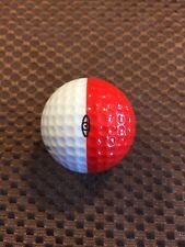 PING GOLF BALL-RED/WHITE PING EYE #3.....MERRY CHRISTMAS STAR LOGO...10/10......
