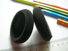 2 Ohrpolster aus Schaumstoff Φ 60 mm für zB. Philips, Sennheiser, Sony Kopfhörer