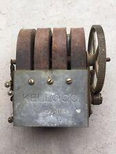 Vintage KELLOGG 4 Bar Telephone Magneto Generator