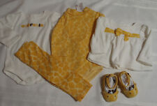 GYMBOREE Baby 3-6 Month Baby Giraffe NWT Bodysuits Top EUC Outlet Pants Outfit