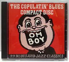 COPULATIN' BLUES COMPACT DISC CD 22 BLUES AND JAZZ CLASSICS 78 RPM RECORDINGS!!