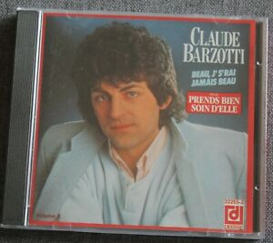Claude Barzotti, beau j's'rai jamais beau, CD
