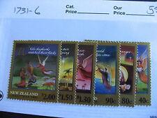 NEW ZEALAND 2001 Christmas, Xmas set Sc 1731-36 MNH