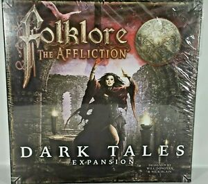Folklore The Affliction Dark Tales Expansion Board Game Fantasy Adventure Horror