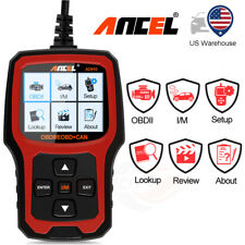 Universal OBD2 EOBD Car Engine Scanner Code Reader Diagnostic Tool AD410 US