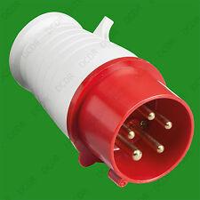 16A IP44 Industrial Commercial Ceeform 5 Pin 415V Heavy Duty Power Plug