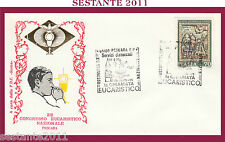W544 VATICANO FDC ROMA CONGRESSO EUCARISTICO NAZIONALE PESCARA 1977
