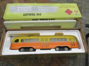 Vintage 2009 Aristo-Craft Trains G Scale, PCC Trolley, #3082 OB
