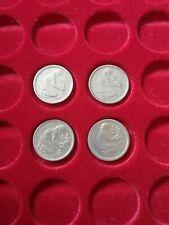 Sammlung 50 Pfennig 1949 kompletter Satz D  F  G  J   Bank Deutscher Länder