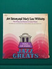 Art Tatum and Mary Lou Williams The King and Queen of Jazz Piano vinyl LP