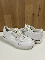 Reebok Classic leather trainers UK Size 5 EU 38 GS White Retro Vintage Womens