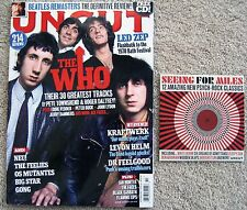 THE WHO LED ZEP LEVON HELM OCTOBER 2009 UNCUT MAGAZINE WITH BONUS PSYCH CD