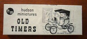 1951 HUDSON MINIATURES 1906 Columbia Electric Old Timer model kit
